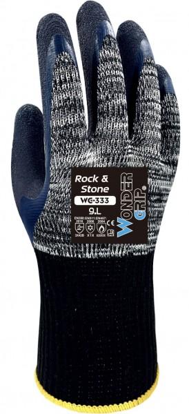 Wonder Grip WG-333 Rock & Stone Latex-Schutzhandschuhe